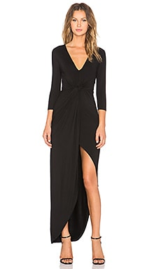 Lovers + Friends Sundance Maxi Dress in Black
