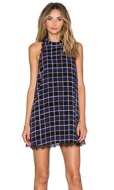 Lovers + Friends Mimosa Dress in Plaid