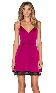 Lovers + Friends Young Love Dress in Berry