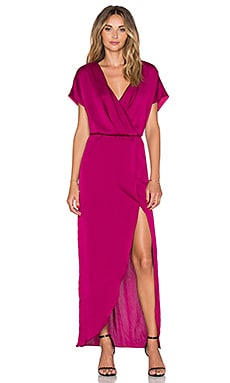 Lovers + Friends Seneca Maxi Dress in Berry