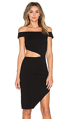Lovers + Friends x REVOLVE Complex Off The Shoulder Dress in Black