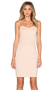 Lovers + Friends x REVOLVE Strapless Staple Dress in Nude