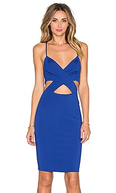 Lovers + Friends x REVOLVE X It Bodycon Dress in Dark Blue