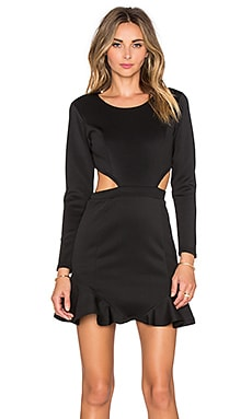 Lovers + Friends x REVOLVE Eternal Long Sleeve Dress in Black