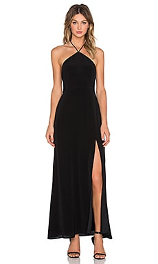 Lovers + Friends x REVOLVE One Night Maxi Dress in Black