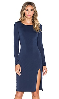 Lovers + Friends x REVOLVE Perfect Long Sleeve Dress in Navy