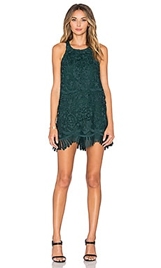 Lovers + Friends x REVOLVE Caspian Shift Dress in Hunter Green