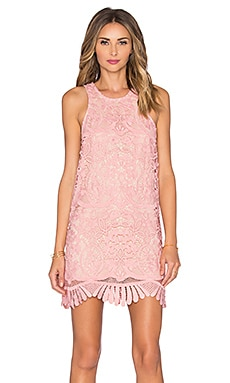 Lovers + Friends x REVOLVE Caspian Shift Dress in Pale Pink
