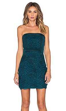 Lovers + Friends Break Free Bodycon Dress in Teal