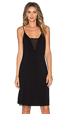 Lovers + Friends Temptress Midi Dress in Black