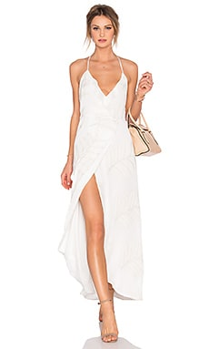 Lovers + Friends Nostalgia Maxi Dress in Ivory