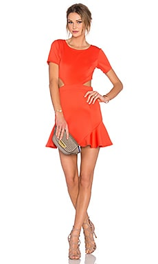 x REVOLVE Eternal Dress in Coral