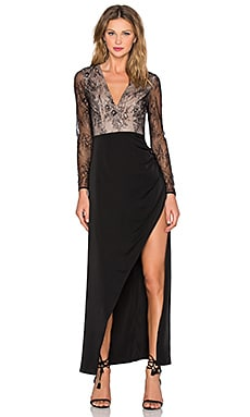 Lovers + Friends x REVOLVE A Lister Gown in Black