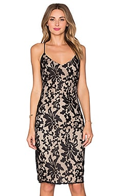 x REVOLVE Romance Me Dress in Black