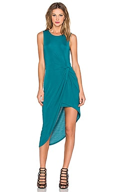 Lovers + Friends x REVOLVE Jenna Wrap Dress in Teal