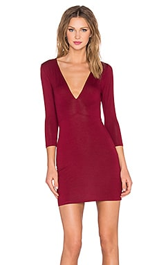 Lovers + Friends x REVOLVE Melanie Dress in Cabernet