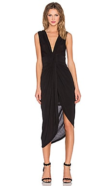 x REVOLVE Knot Dress en Noir