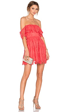 Lovers + Friends Dream Vacay Dress in Coral Reef