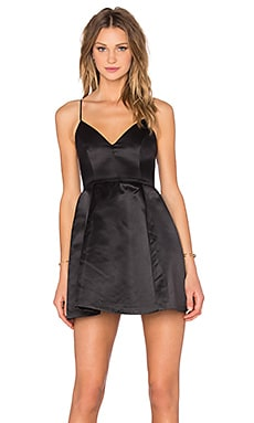 x REVOLVE Young Love Dress in Black