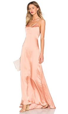 x REVOLVE The Slip Dress in Nude