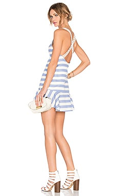 Morning Light Dress in Nautical Stripe