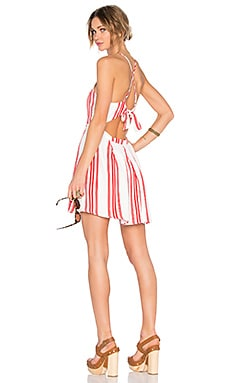 x REVOLVE Forget Me Not Dress in Red Stripe