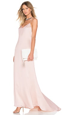 x REVOLVE The Slip Dress in Champagne