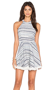 Lovers + Friends Hazel Dress in Blue Multi