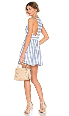 Lovers + Friends Honor Dress in Nautical Stripe