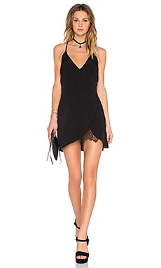 x REVOLVE Soulmate Mini Dress en Noir