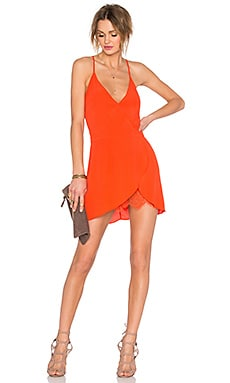 Lovers + Friends Soulmate Mini Dress in Coral Reef