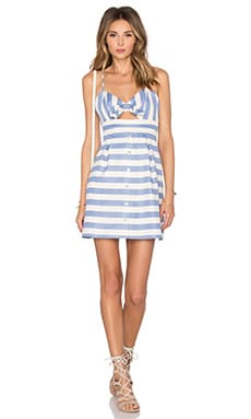 x REVOLVE Ocean Waves Mini Dress in Nautical Stripe