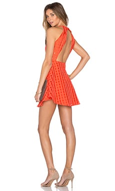 x REVOLVE Terrace View Dress in Red