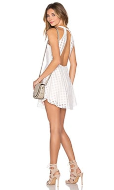 Lovers + Friends Terrace View Dress in Ivory