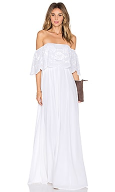 Lovers + Friends x REVOLVE The Hawaii Dress in White