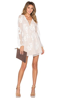 Lovers + Friends Haiden Dress in Ivory