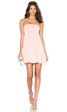 Lovers + Friends Golden Sun Dress in Blush