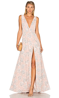 Lovers + Friends Leah Gown in Floral