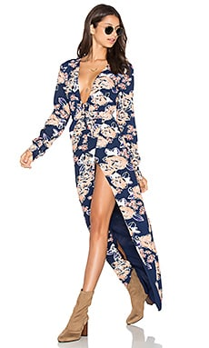 Lovers + Friends My Love Maxi Dress in Carmel Floral