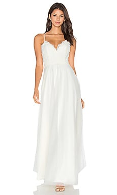 x REVOLVE Orchard Gown in White