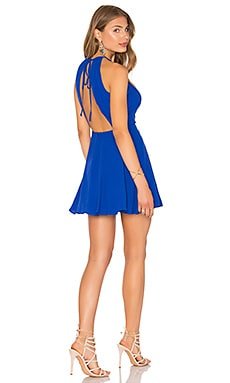 x REVOLVE Journey Fit & Flare in Blue