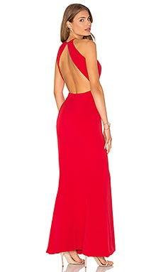 x REVOLVE Claudia Gown in Red
