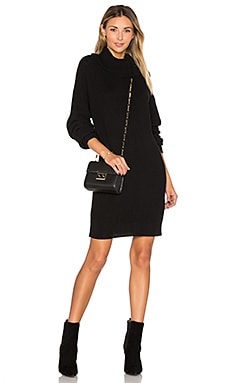 Christina Sweater Dress in Black