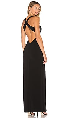 x REVOLVE Aries Maxi in Black