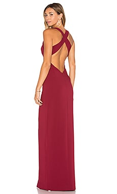 x REVOLVE Aries Maxi in Maroon