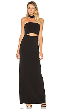 x REVOLVE Raine Maxi in Black