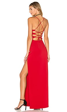 x REVOLVE Lauren Maxi in Red