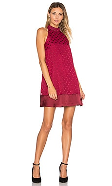 Lily Dress in Raspberry