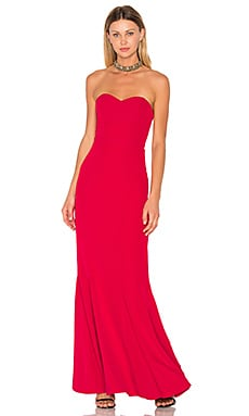 x REVOLVE Christy Gown en Rouge
