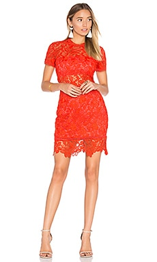 Mon Amour Dress in Red